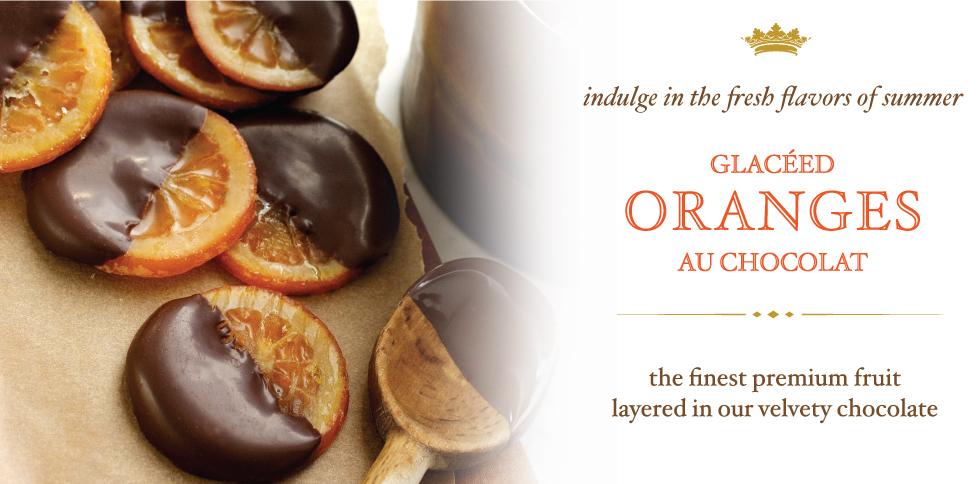 Glaceed Oranges Au Chocolat