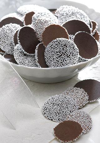 Chocolate Nonpareils